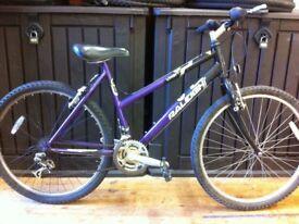 "Ladies Mountainbike - fully refurbished 19"" Raleigh Vixen: 26"" wheels"