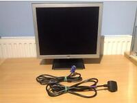 "19"" LCD FLAT SCREEN PC MONITOR"