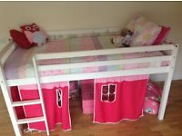 playbed for little girl and bedroom furniture