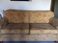 Sofa 7ft long in good condition
