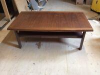 Coffee table walnut colour