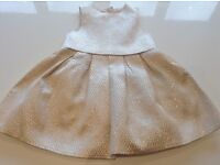 Girls Party Dress - Age 3-4 Years - Excellent Condition - Mothercare