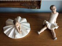NAO by Lladro ballerina figurines