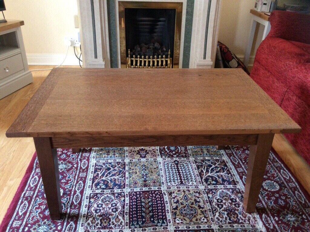 Coffee Table 36 X 24.Oak Coffee Table In Liverpool Merseyside Gumtree