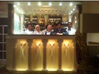 Modern Indian Restaurant seeking Waiting staff and Kitchen Assistants