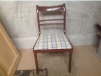 2 X dinning chairs.
