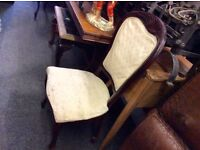 Set of 6 vintage frenchbstyle chairs