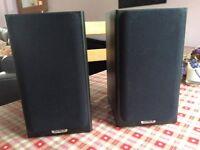 Tannoy Mercury F1 Custom - HiFi Bookshelf Speakers - Pair - Dark Oak