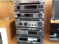 Sony separate system with turntable very good condition