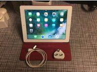 iPad 4th generation, 16gb, white.