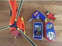 Bundle Of Fireman Sam Toys