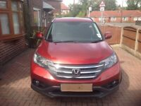 2013 HONDA CR-V SR I-VTEC Auto Estate. Superb example one owner , full service history, low milage.