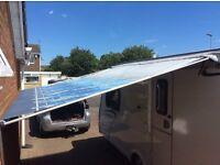 Fiamma Caravanstore 310 Zip 07 caravan/motorhome canopy - excellent condition