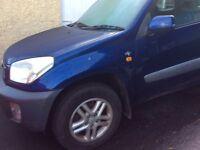 1yr MOT. 3door blue. P.m.o. £700 o.n.o