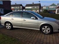 Vauxhall Vectra 07 reg, silver 5 door in excellent condition for sale