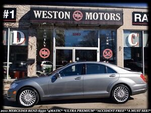 2011 Mercedes-Benz S-Class S550 *4MATIC *ULTRA PREMIUM *ACCIDENT