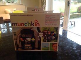 Munchkin backseat and pushchair organiser brand new