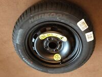 Ford Fiesta spare wheel and tyre. New.