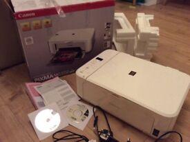 Canon printer/scanner/ copier model MG3150 white-in Box -Sunderland