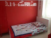 Beautiful Laura Ashley bedding bundle soldier design single duvet, bedspread, cushion
