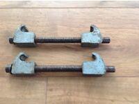 Car spring compressors