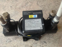 Stuart Turner Showermate Standard pump, 1.8 bar Twin, excellent condition