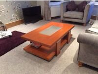 Cherrywood Coffee Table and Cherrywood TV Stand West Bridgford