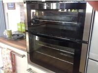 Built in gas oven and grill