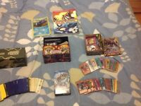 SMALL COLLECTION OF POKEMON AND YU-GI-OH CARDS IN BOXES