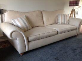 Beautiful 'Andrew Paul' Sofa & Armchair