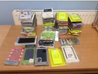 JOBLOT OF 50 MIXED MOBILE PHONE CASES