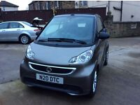 Smart car four two passion MHD convertible 2013