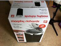 Morphy Richards Square Sensor Bin, 42 L - Black - Brand New In Box £35