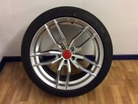 New Audi/Vw 19 inch alloys and tyres.