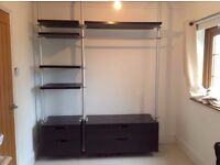 Ikea Stolmen Wardrobe System - Very Good Condition - Need gone Sunday 25th Sept