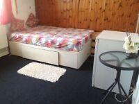 Newly refurbished, big double room with Fridge n wifi