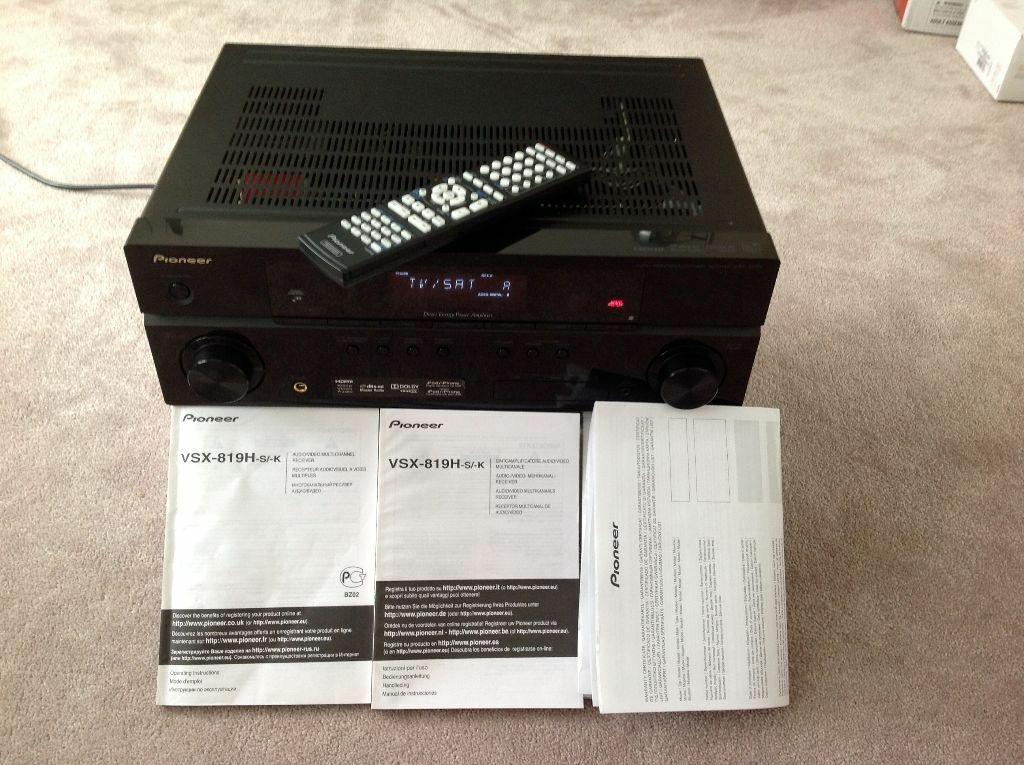 Pioneer VSX-819H-K Home Cinema Receiver | in Dalston