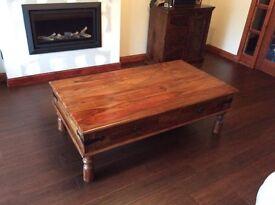 Maharani 4-Drawer Coffee Table