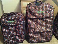 Minimals suitcase 2 large 1 small