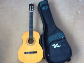 classical guitar with case.