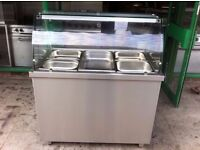 BAIN MARIE RESTAURANT KITCHEN COMMERCIAL WARMER UNIT CAFE HOT FASTFOOD TAKEAWAY CATERING PUB BAR