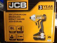 Jcb lithium brushless impact driver