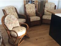4 Conservatory Chairs