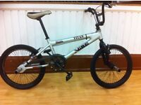 BMX - refurbished Vibe Titan with front and rear stunt-nuts