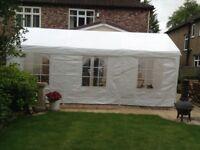Party Tent 6metres x 3metres steel frame