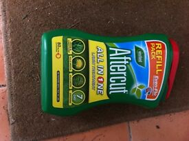 Aftercut all in one lawn treatment 80 sqm new refill pack