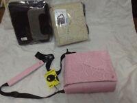School bags multi pockets adjustable shoulder strap new £10'each