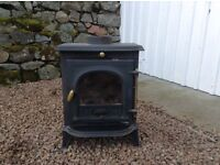 Multi fuel stove, 4kw in excellent condition