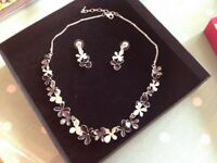 Necklace and Earrings, from All That Glitters, boxed
