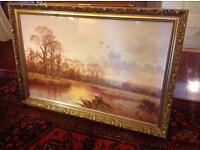 Ornate framed print